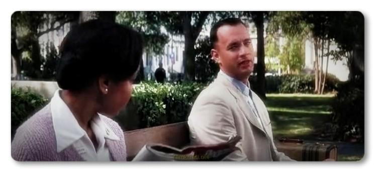 """Forrest Gump, IQ'sü düşük, basit bir adamdır, ama iyi niyetlidir. Annesi ona hayat dersleri verir (""""Hayat bir kutu çikolataya benzer""""), sonra da kaderine terk eder. Forrest Vietnam'a gitmek için orduya katılır, Dan ve Bubba ile arkadaş olur, madalya kazanır. Ondan beklenmeyen pek çok şey yapar, hatta Başkan'la birkaç kez karşılaşır. Ama ne yapsa, çocukluk arkadaşı ve tek aşkı Jenny'yi unutamaz"""